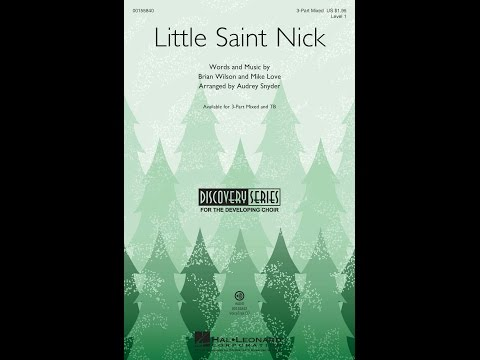 Little Saint Nick (3-Part Mixed) - Arranged by Audrey Snyder