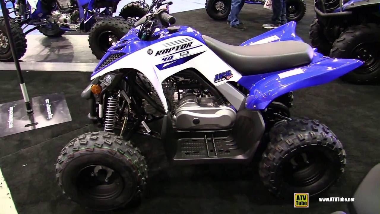 2016 Yamaha Raptor 90 Sport Atv Walkaround 2015 St