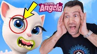 My TALKİNG ANGELA'NIN GÖZÜNDE KAMERA VAR İŞTE İSPATI Gece 3'te sakın Talking Angela Oynamayın