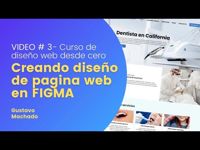 Como crear una pagina web con Figma 🎓 Curso Diseño web desde cero # 3