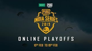 OPPO x PUBG MOBILE India Series | Online Playoffs | Round Two | Day 5 | Hindi