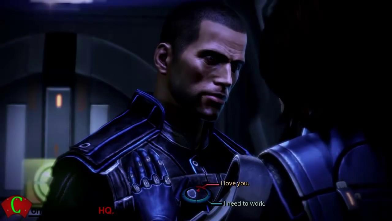 Mass Effect 3 Ashley Williams Commander Shepard Me3 Cutscenes
