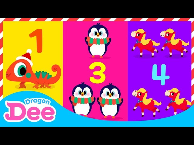 12 days of Christmas   Animals Carol   Click the link below 👇🏻 to enjoy the new Dragon Dee channel