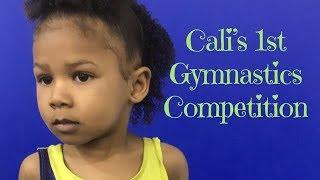 CALI'S FIRST GYMNASTICS MEET!!! | FicklinTV Vlog