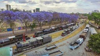 Nairobi Railway Museum Drone view