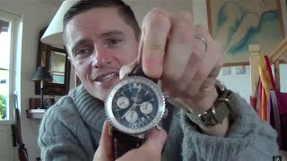The Eagle Has Landed - Unboxing My Breitling Navitimer From Watchfinder & Arriving To My UK Home