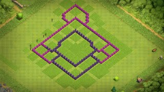 Layout cv 7 parte 2 (Clash of clans)●Canal IG Gamer●