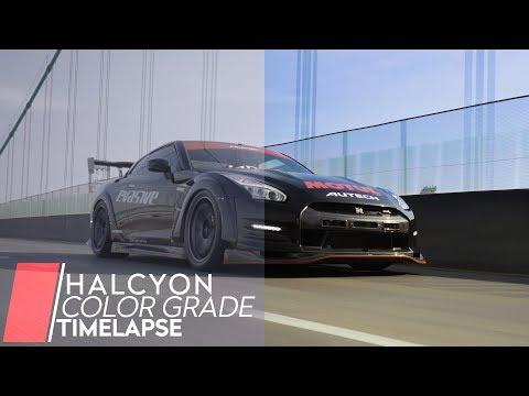 Timelapse: Color Grading | HALCYON