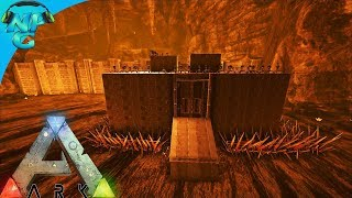 World War ARK - Sneaky Tactics as 2 Men 1 Base Raid the Lava Cave! E14 ARK Survival Evolved