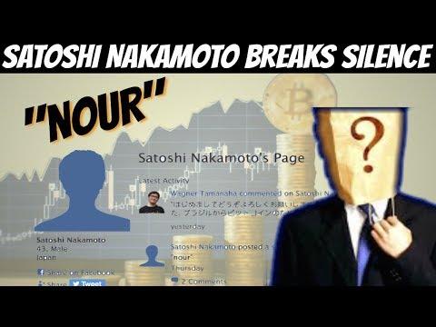 Satoshi Nakamoto Breaks Silence on P2P Foundation (Is he back ??!)