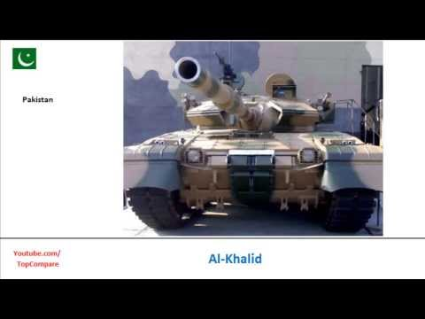 T-90 or Al-Khalid, Main Battle Tank Key features comparison