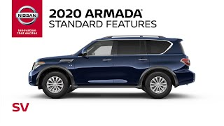 homepage tile video photo for 2020 Nissan Armada SV Walkaround & Review