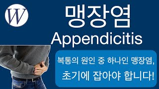 복통중의 하나인 맹장염(appendicitis) - ᄋ…