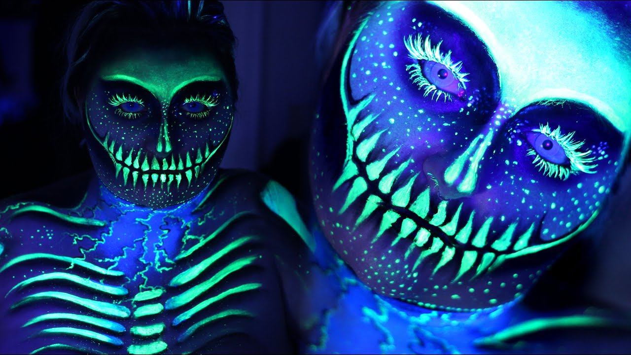 How To Make Neon Blacklight Paint