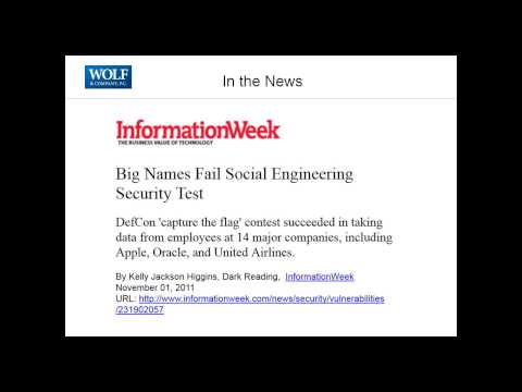 2012 05 08 14 02 Social Engineering  Security Goes Beyond Technology