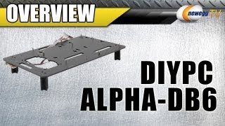 Newegg Tv: Diypc Alpha-db6 Black Acrylic Open Computer Case Overview