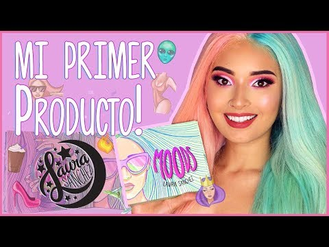 MI PRIMER PRODUCTO!  MOODS Eyeshadows & Highligthers  Laura Sanchez