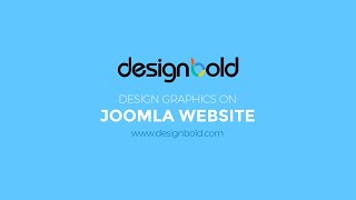 Design graphics for your Joomla Websites with Designbold online design tool thumbnail