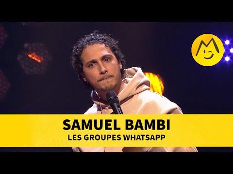 Samuel Bambi - Les groupes WhatsApp