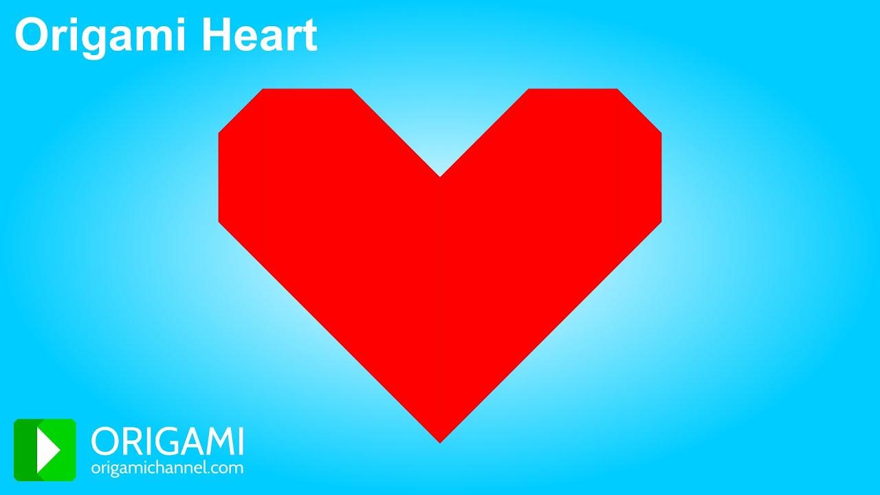 Happy valentines day origami heart 3d animation on origami origami heart 3d animation on origami channel youtube jeuxipadfo Gallery
