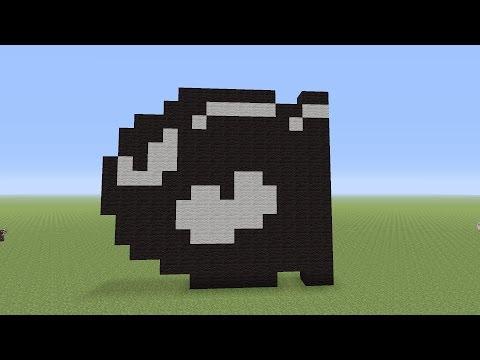 Mario Bullet Bill Minecraft Blueprints Youtube