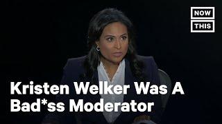 Kristen Welker's Best Moderator Moments at the Final 2020 Debate | NowThis