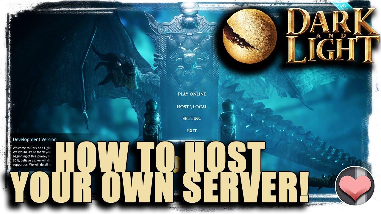 как создать сервер на хостинге ourservers