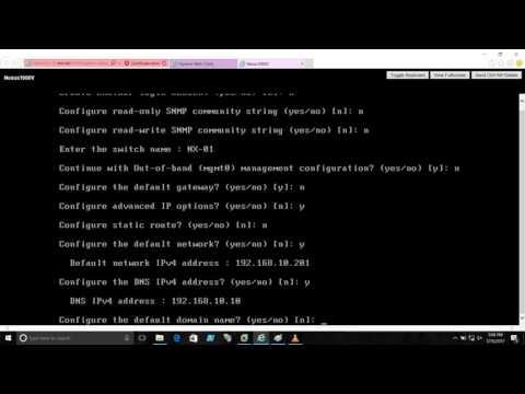 Cisco Nexus 1000V – VMWare vSphere Distributed Switch – Part-III (Cisco Nexus 1000V Configuration)
