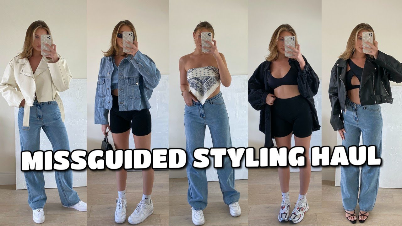 EFFORTLESS, EASY OUTFITS | MISSGUIDED STYLING HAUL