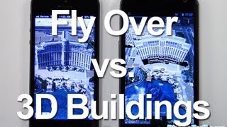 Fly Over On iOS Maps vs 3D Buildings On Google Earth Free HD Video