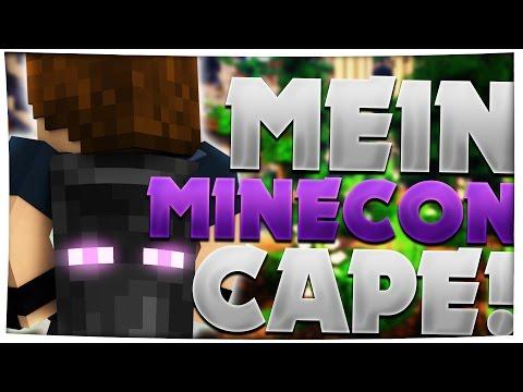 MEIN MINECON 2016 CAPE!