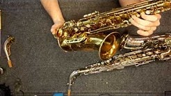 Repairman's Overview (Sprawling Mess Edition): King Super 20 Saxophones