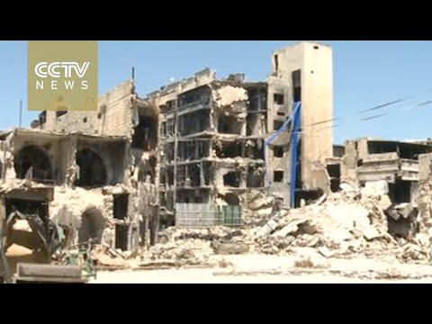 Syria Crisis: Ancient city of Aleppo ravaged by relentless conflict