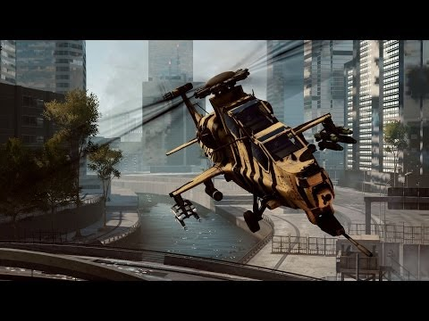 Only In Battlefield 4: Helicopter Fly-By