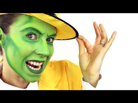 The Mask | Jim Carrey Makeup Tutorial