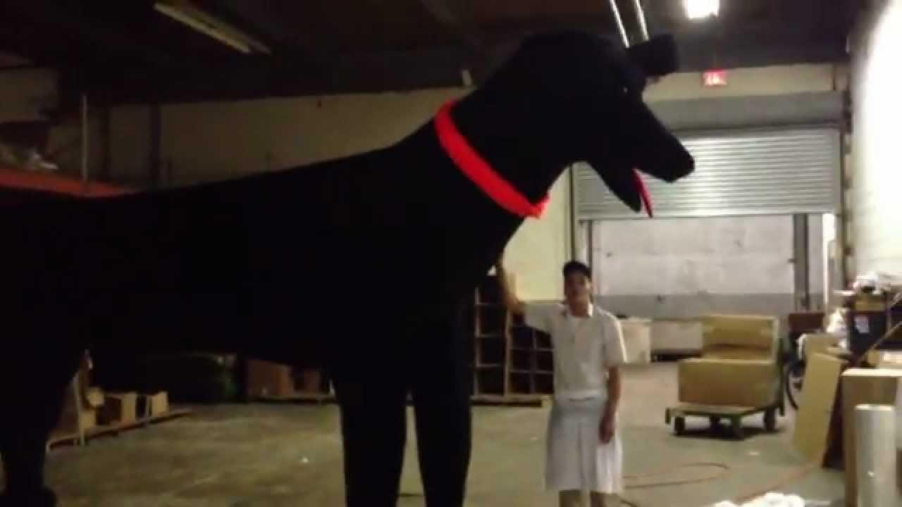 18 Foot Stuffed Dog Custom Made In The Usa Big Plush Toy