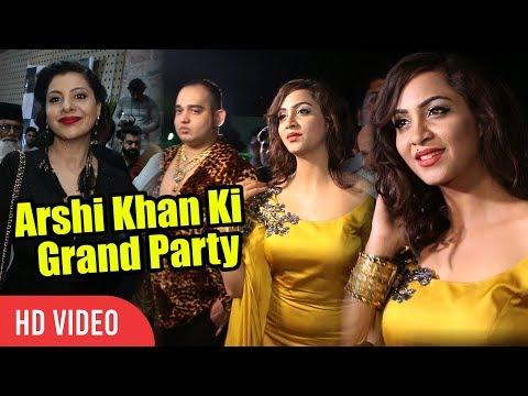 Arshi Khan Ki Grand Party   Bigg Boss 11 Grand Party   FULL NIGHT PARTY
