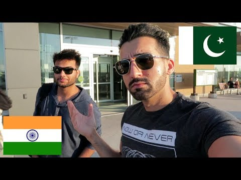 PAKISTANI WELCOMES AN INDIAN