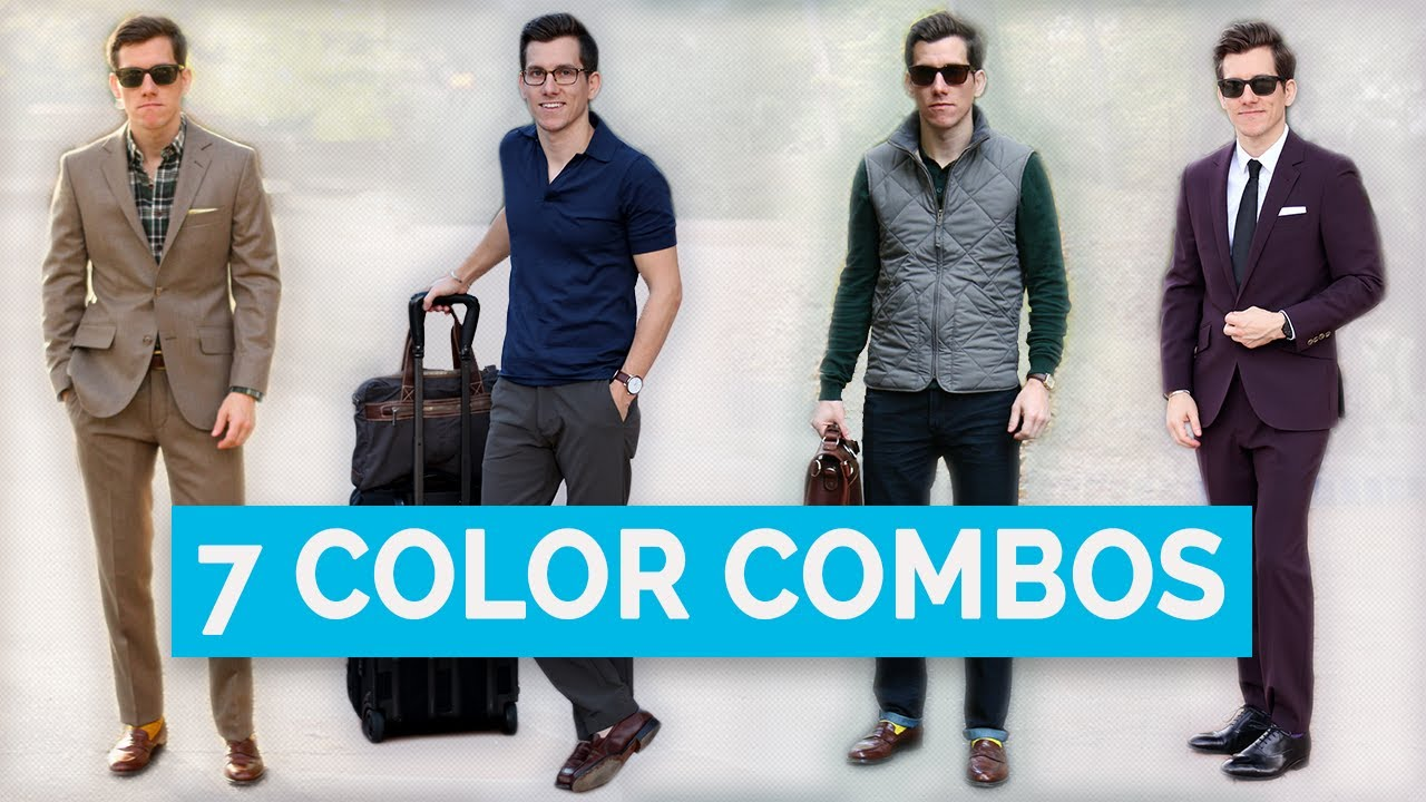 7 Best Clothing Color Combinations For Men