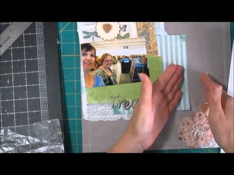 Scrapbook Process Kit Layout 3