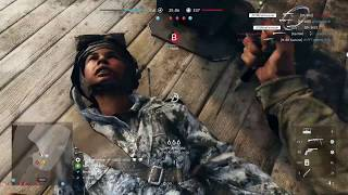 Battlefield 5: STOLE HIS GUN AND WENT BEASTMODE!!! (ZK-383 Gameplay) Extended Mags, Custom Stock