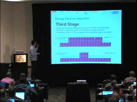 GRCon12: Carillo - Building an efficient energy detector with SDR and GNU Radio