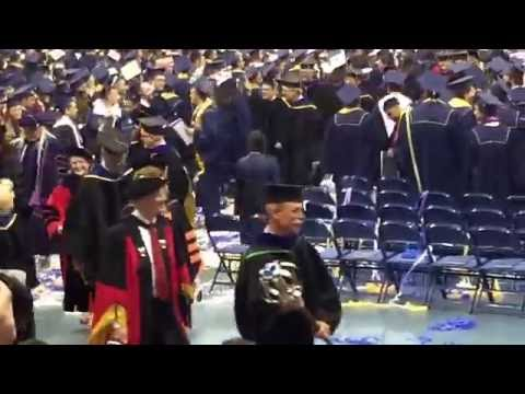 Hail to California and Recessional of UC Davis Commencement of College of Engineering 2016