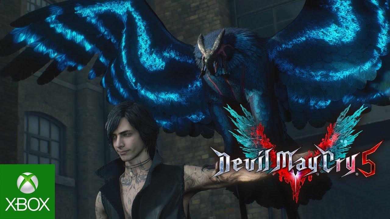 Сегодня выйдет бесплатная демка Devil May Cry 5. Появился новый трейлер с жестокими добиваниями врагов
