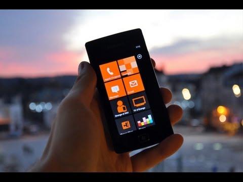Test express du Samsung Omnia W - par Test-Mobile.fr