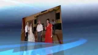 Слайдшоу из 8 фото свадьбы Динары и Рико 9.08.2008 г.