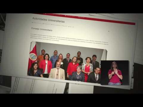 Mensaje oficial Rector Alberto Salom, UNA Transparente