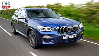 New BMW X3 M40i 2018 review  - Car Reviews Channel