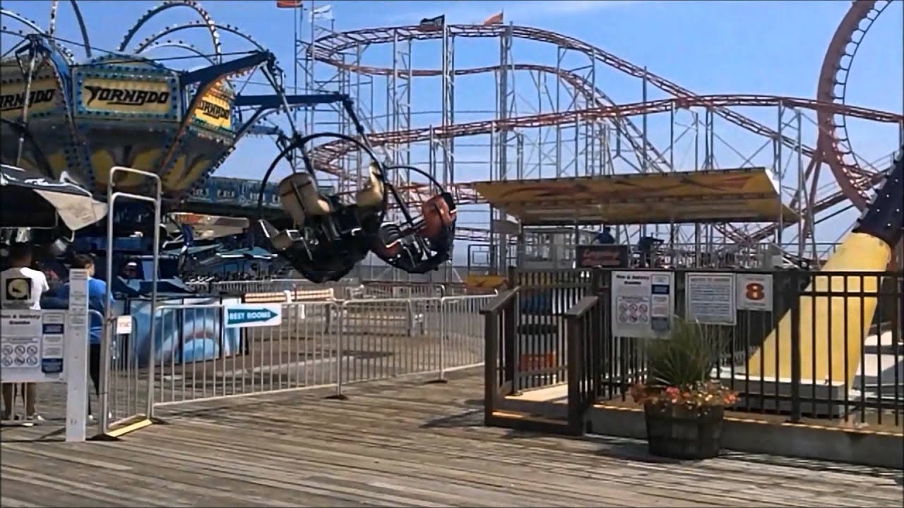 seaside heights boardwalk the summer before and after