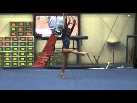 Kira Gymnastics Level 3 Floor Steel City 2013 Youtube